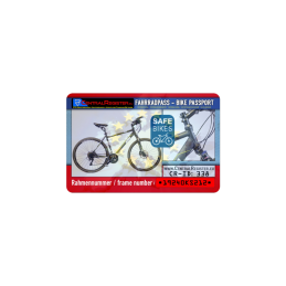 Fahrradregistrierung SECURE